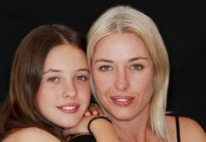 Mum and daughter photo for Mother's Day