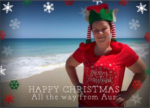 Christmas Australian card