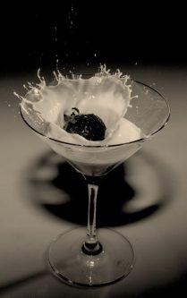 Easter chocolate mockail martini