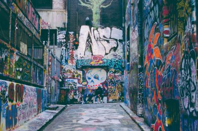 Graffiti lane in Melbourne should be on your travel bucket list