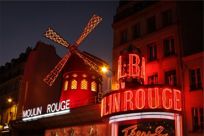 Moulin Rouge in Paris should be on your travel bucket list