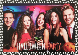 Personalised halloween party invitation