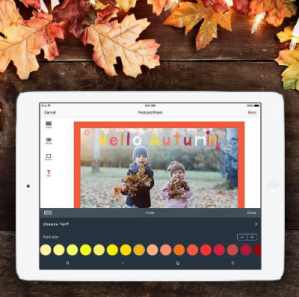 How to take a great Autumnal photo for your personalised card