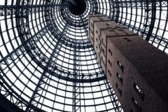 Chimney in Melbourne's shopping mall