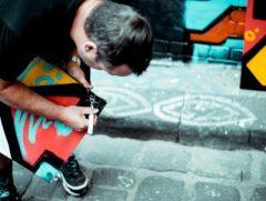 Melbourne graffiti artist