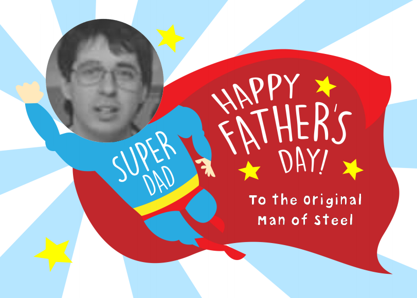 super dad card for father's day