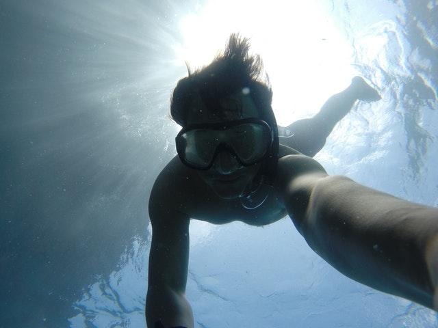 Selfie day 2017 under water