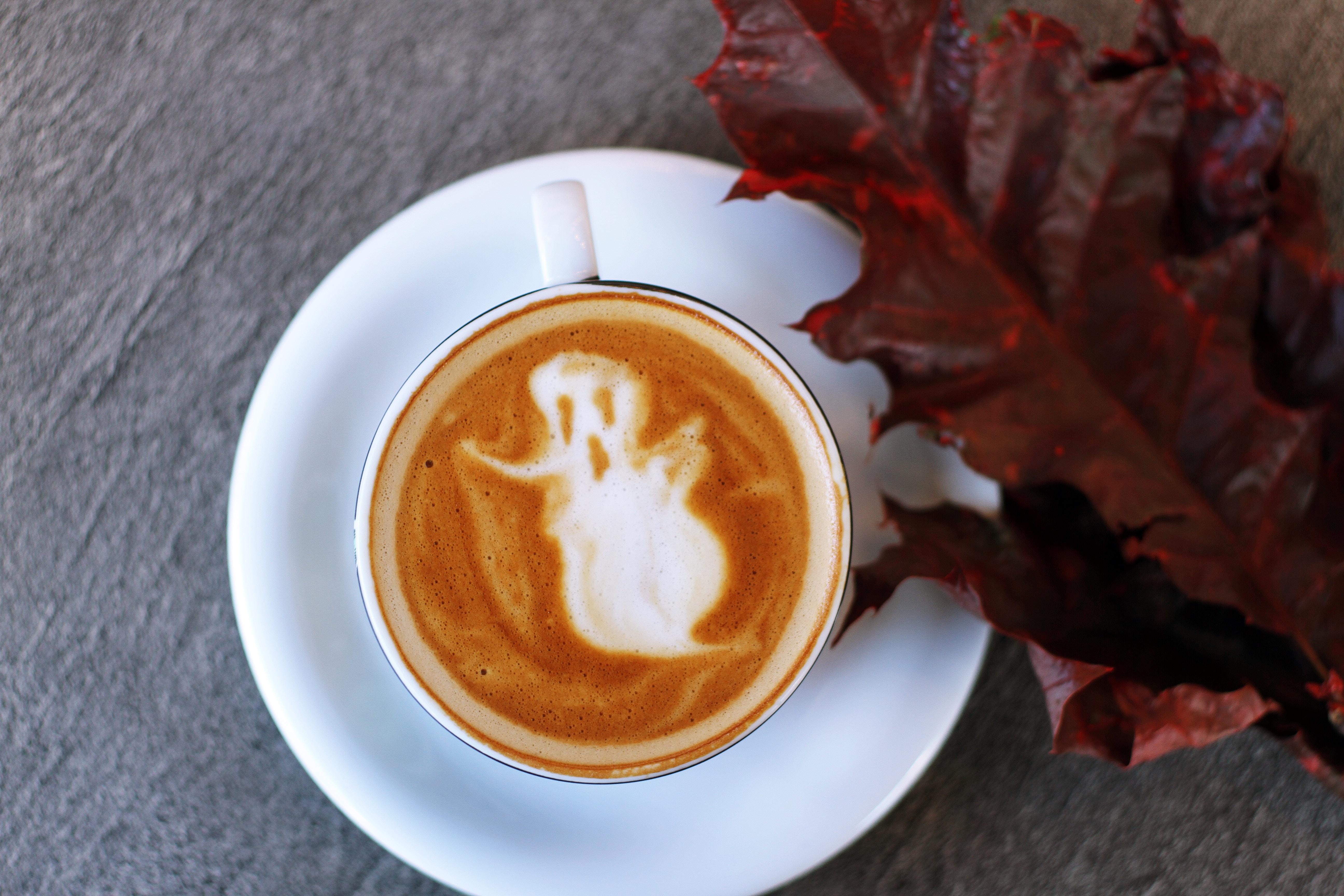 halloween coffee postsnap