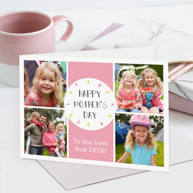 Postsnap mother's day greeting card